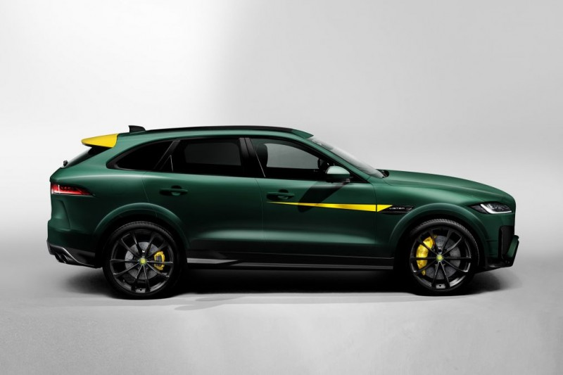 Jaguar F-Pace-Based Lister LFP 'Potentially' The World's Fastest SUV