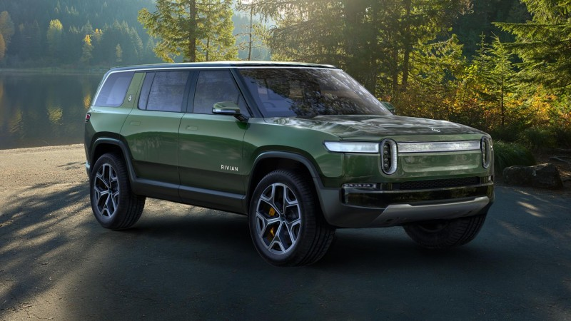 This Is Rivian's New Electric Seven-Seat SUV