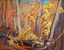 Autumn Woodland By Lawren S. Harris, Oil Painting