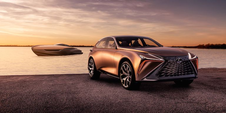 Lexus' Latest Concept Car Was Inspired By a Copper Pot