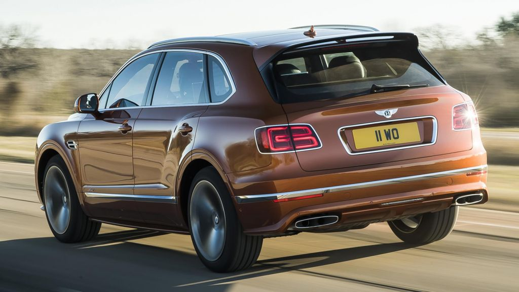The New Bentley Bentayga Is The Fastest SUV In The World