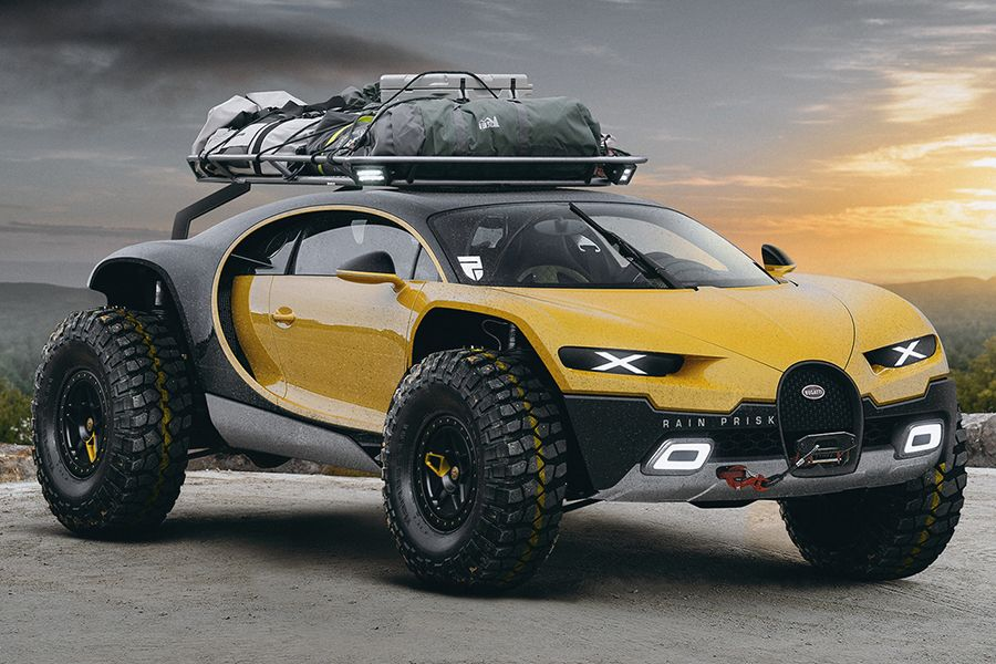 Bugatti Chiron Off-Road Edition